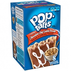 Печенье Pop Tarts 8 PS Frosted Chokolate Chip Cookie Dough 400 грамм