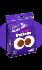 Cadbury Гигантские пуговицы Brunch Giant Buttons 119гр