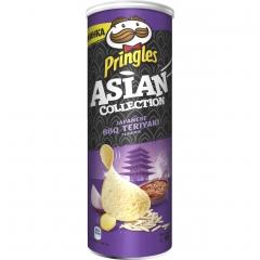Чипсы Pringles RICEсо вкусом Японского барбекю и Террияки 160гр