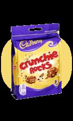 Cadbury Хрустящие шарики Crunchie Rocks 110гр
