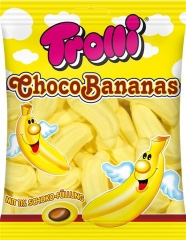 """Суфле TROLLI """"Банановое с шоколадной начинкой"""" 150гр"""