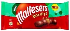 Печенье Maltesers Biscuits Mint Cookies 110гр