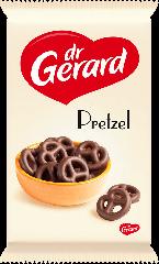Др.Джерард Претцель печенье крендель с шоколадной глазурью 165гр