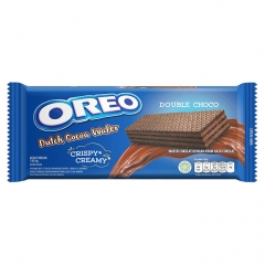 Oreo Dutch Cocoa Wafer Double Choco с шоколадной начинкой 140,4 гр