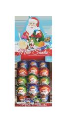Яйцо Дед Мороз с сюрпризом и десертом 15гр