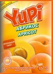 Растворимый напиток YUPI Абрикос 15г