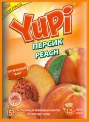 Растворимый напиток YUPI Персик 15г