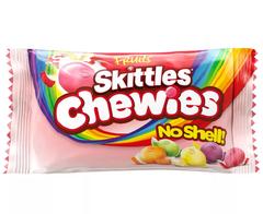 Жевательные конфеты Skittles Chewies без скорлупы 45гр