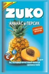 Растворимый напиток ZUKO Ананас-персик 25г